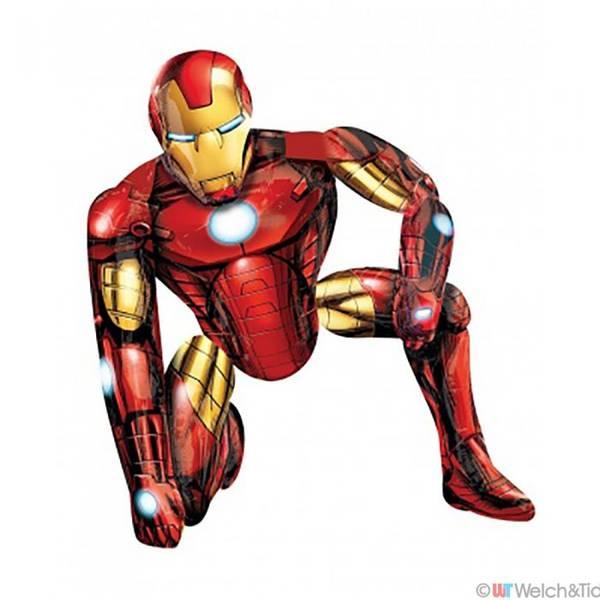 Bilde av Avengers, Gigantisk IRON MAN Airwalkers Folieballong