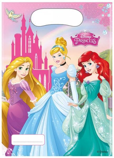 Bilde av Disney Prinsesser Godteposer, 6stk
