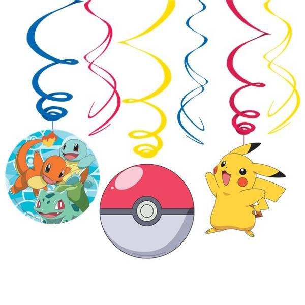 Bilde av Pokemon, Swirl Dekorasjoner