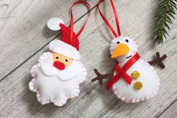 Bilde av Hobbypakke Jul, Nisse og Snømann