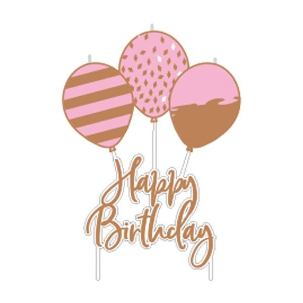 Bilde av Happy Birthday Ballong Kakelys