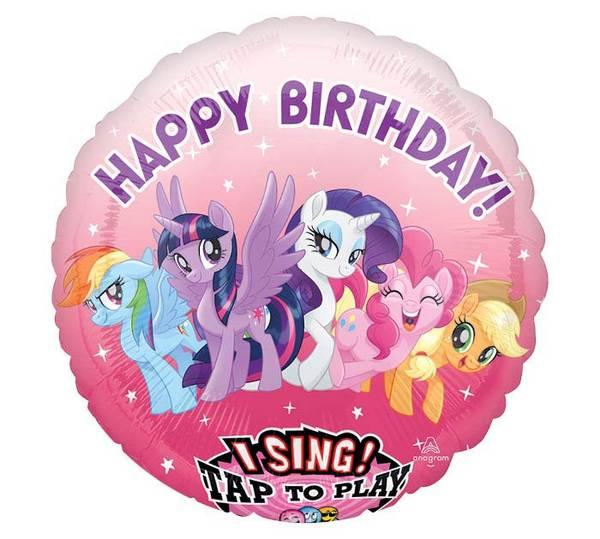 Bilde av My Little Pony Syngende FolieBallong, 71 cm