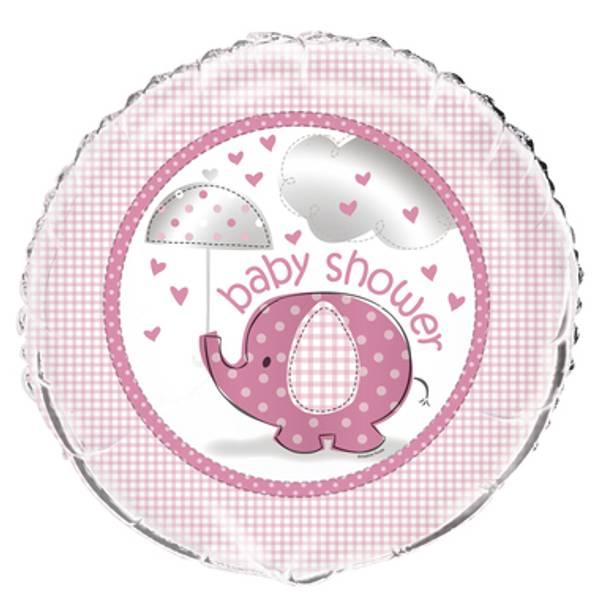 Bilde av Umbrellaphants Babyshower folieballong