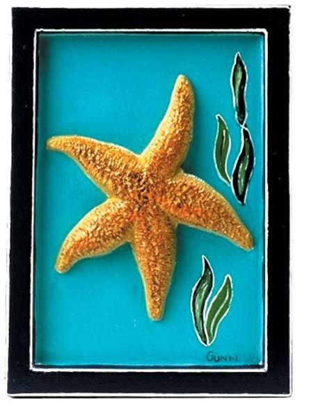 Bilde av Gipsform Sjøstjerne 12×16cm