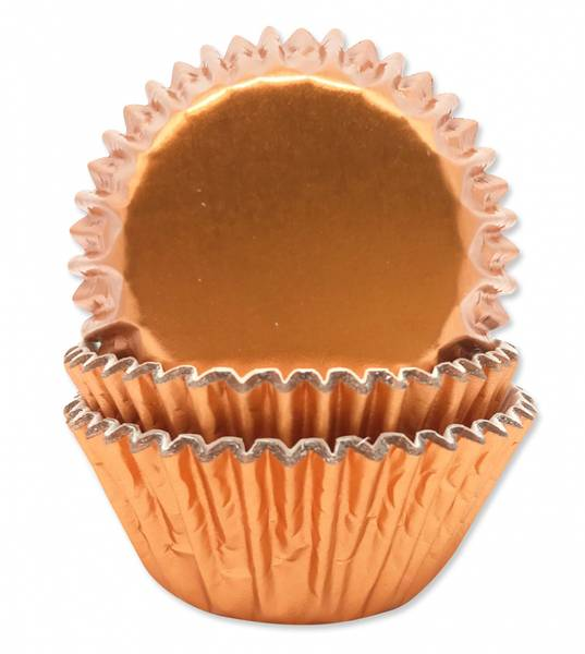 Bilde av Muffinsformer, Rosegull 45 stk