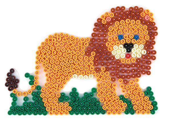 Bilde av Perleplate MIDI – Løve