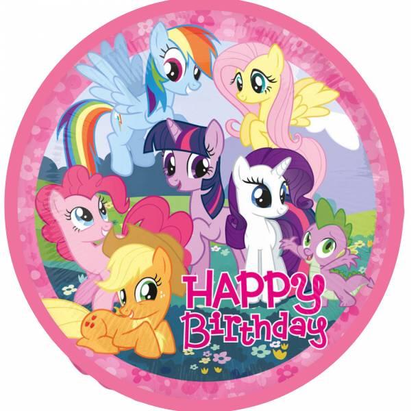 Bilde av My Little Pony, Kakebilde 5, Sukkerpapir, 20 cm