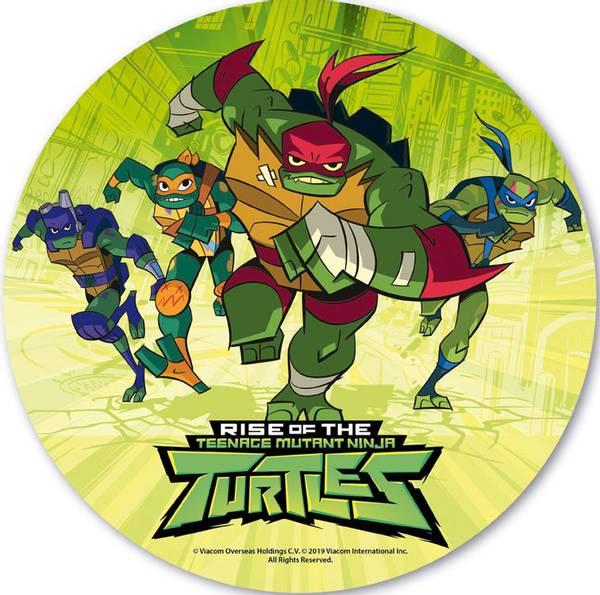 Bilde av Rise of Ninja Turtles, Kakebilde, 20cm