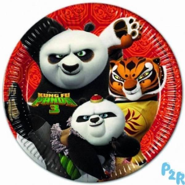 Bilde av Kung Fu Panda Tallerken, 23 cm