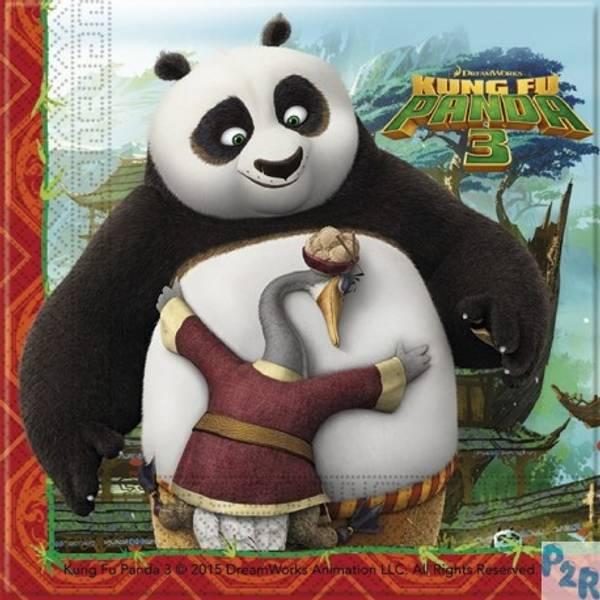 Bilde av Kung Fu Panda Servietter, 20 stk