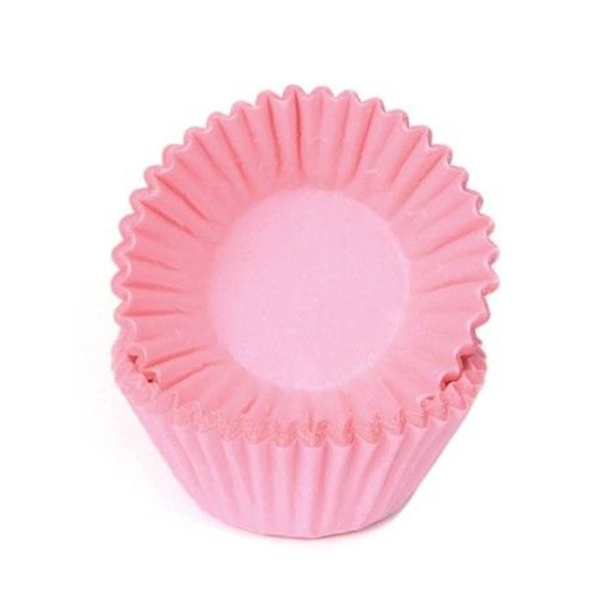 Rosa, Mini Muffinsformer, 100 stk