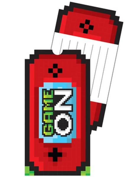 Bilde av Gamer, Invitasjoner med Konvolutter, Pop-Up