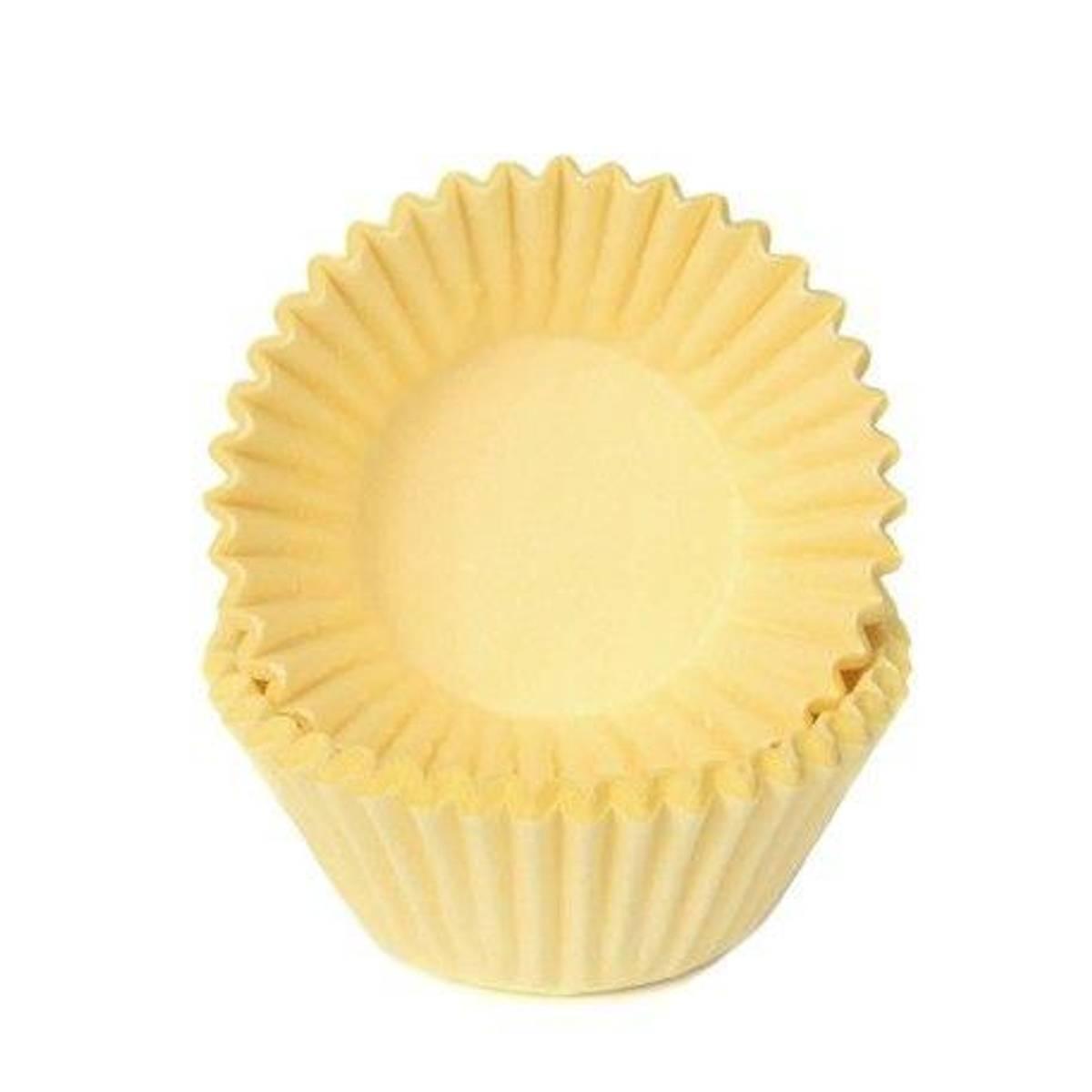Gule, Mini Muffinsformer, 100 stk