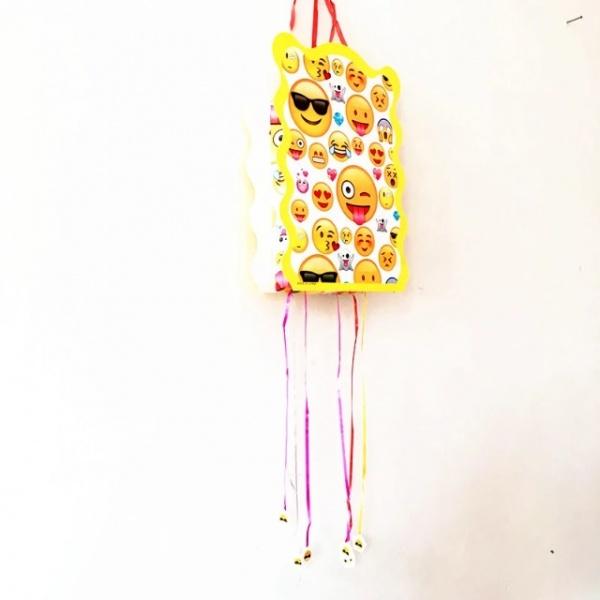 Bilde av Emoji Pull Pinata