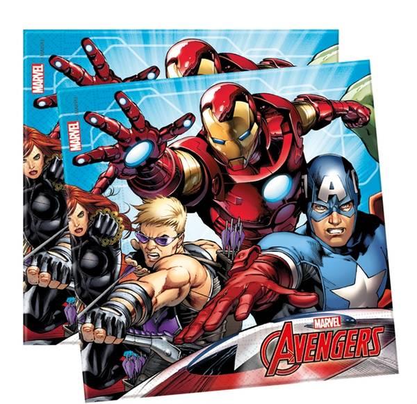 Bilde av Avengers, Servietter, 20stk