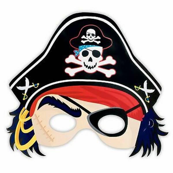 Bilde av Pirat Maske