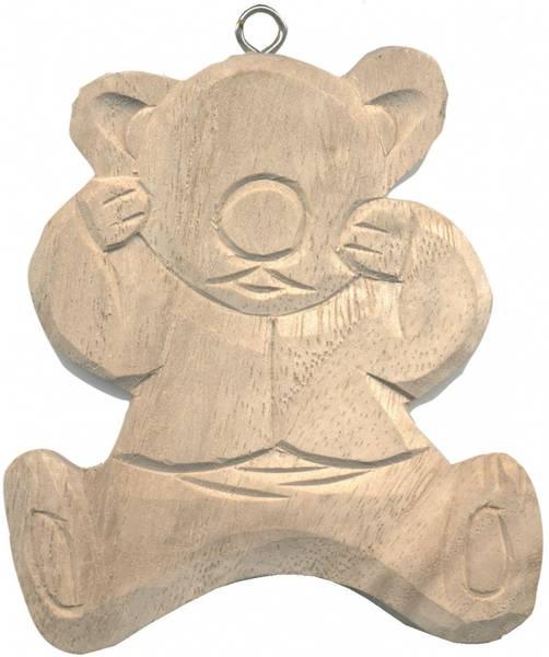 Bilde av Dekorer din egen Bamsefigur i tre, en bamse