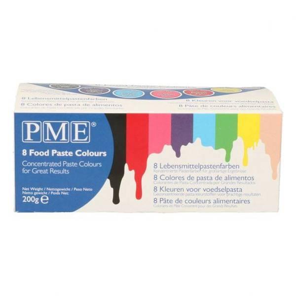 Bilde av PME Konsentrert Konditorfarge 8 farger