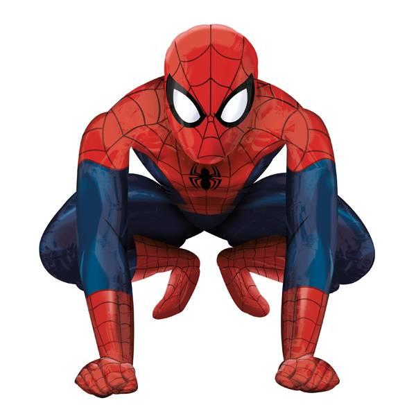Bilde av Spiderman, Gigantisk Airwalkers Folieballong