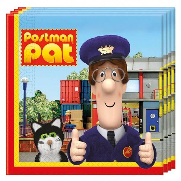 Bilde av Postmann Pat servietter, 20 stk