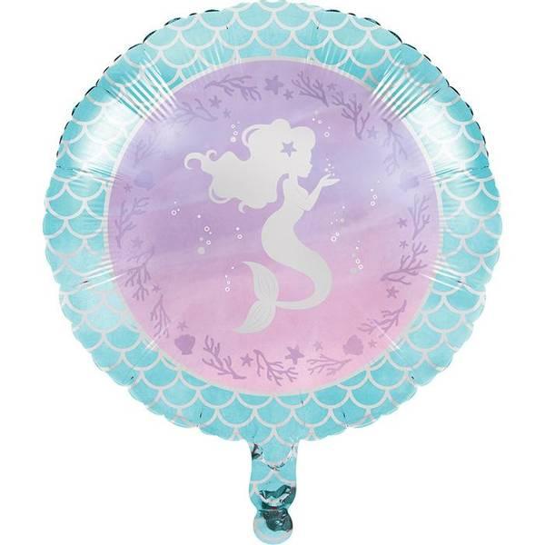 Bilde av Elegant Havfrue Folieballong, 45,7cm