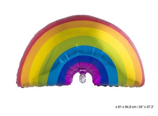 Bilde av Regnbue Folieballong, 61 X 94 cm