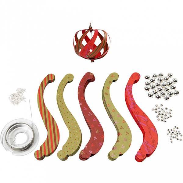 Bilde av Juleoppheng, DIY sett til 12 stk
