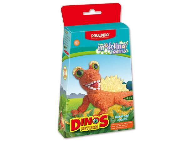 Bilde av Modeling Faom, Dinosaur- Orange