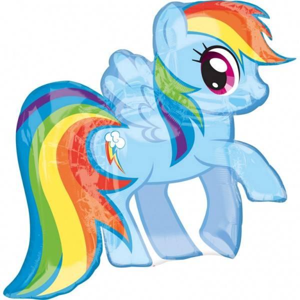 Bilde av My little Pony, Rainbow Dash, Folieballong