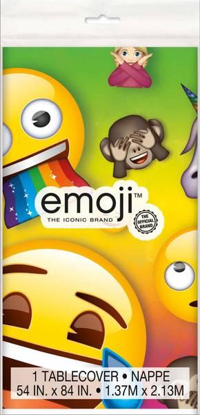 Bilde av Emoji Rainbow Fun Duk, 137 cm x 213 cm