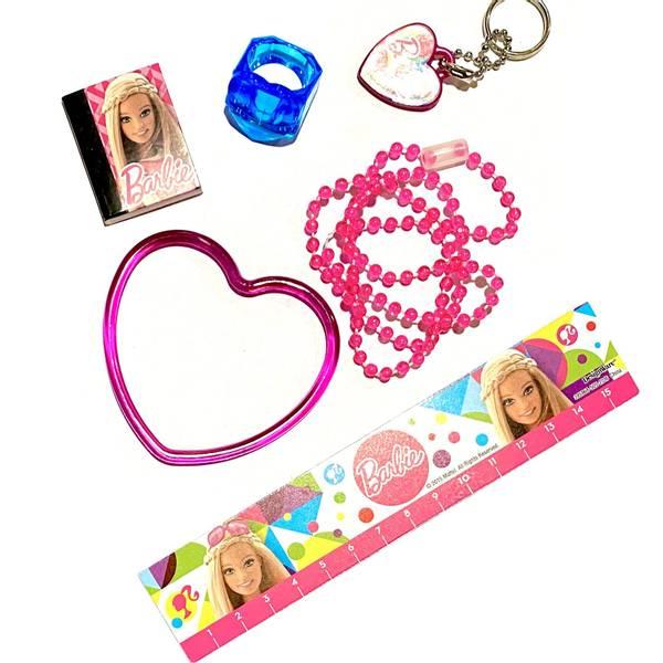 Bilde av Barbie, partyleke pakke, 6 ting