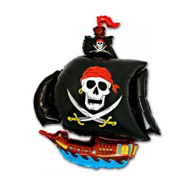 Bilde av XL Piratskip Folieballong