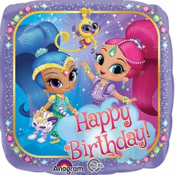 Bilde av Shimmer and Shine Mini Folieballong
