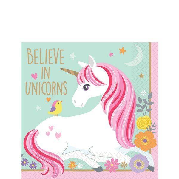 Bilde av Magical Unicorn, Caféservietter 16 stk.