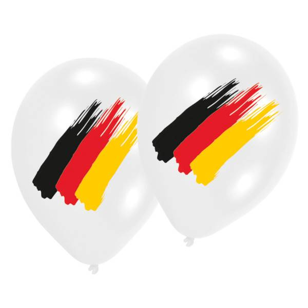 Bilde av Tysk Fotballballong, 6stk