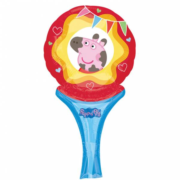 Bilde av Peppa Gris, Folieballong, Inflate-a-fun