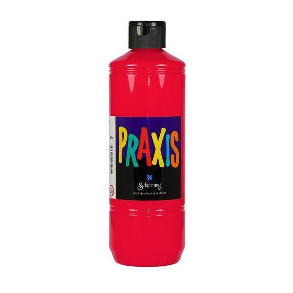 Bilde av Schjerning Praxis Vannbasert Maling 500ml – Rød