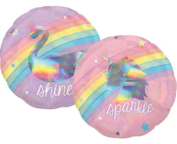 Bilde av Holografisk Enhjørning Folieballong