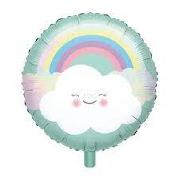 Bilde av Regnbue sky Folieballong