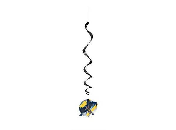 Bilde av Batman Swirl dekorasoner, 3 stk