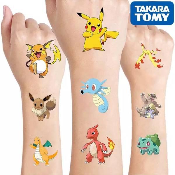 Bilde av Pokemon, Tattoveringer