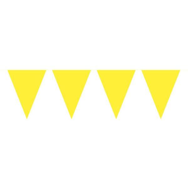 Bilde av Flaggbanner, gul, 10 m