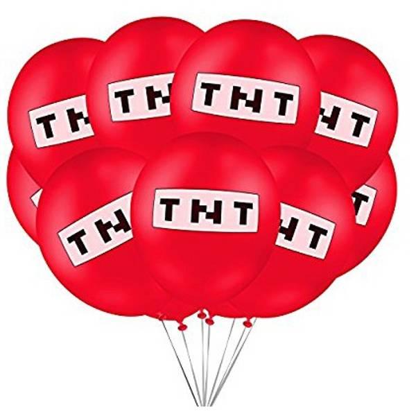 Bilde av TNT ballonger, 10 stk