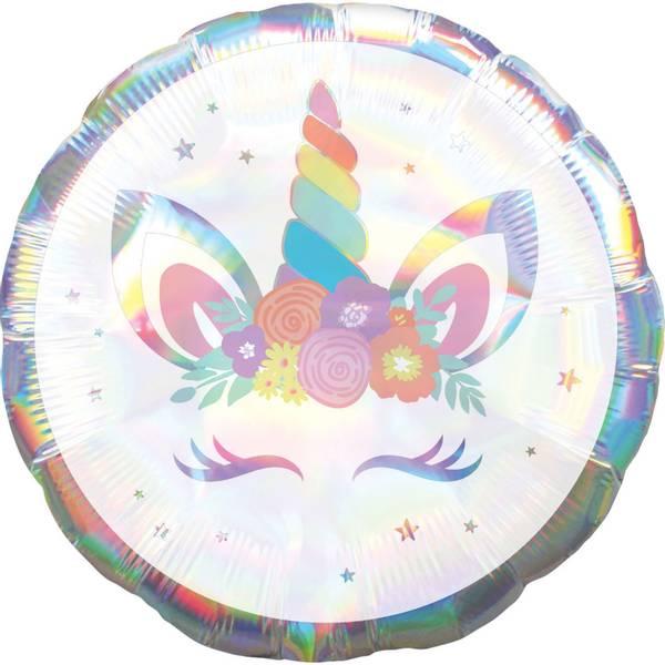 Bilde av Glossy Unicorn, Folieballong, 43 cm