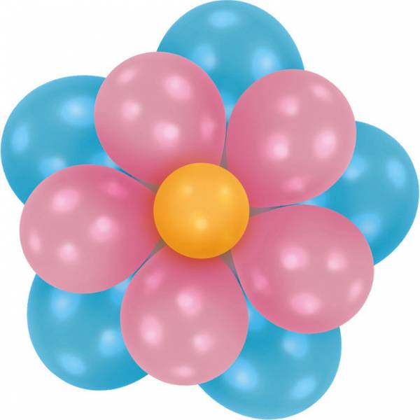 Bilde av Ballong Blomst