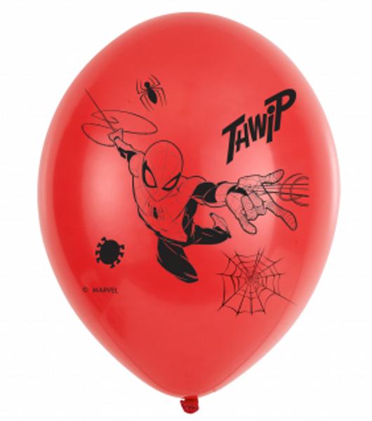 Bilde av Spiderman lateksballonger, 6stk