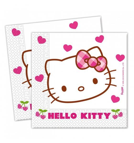 Bilde av Hello Kitty Servietter, 20 stk