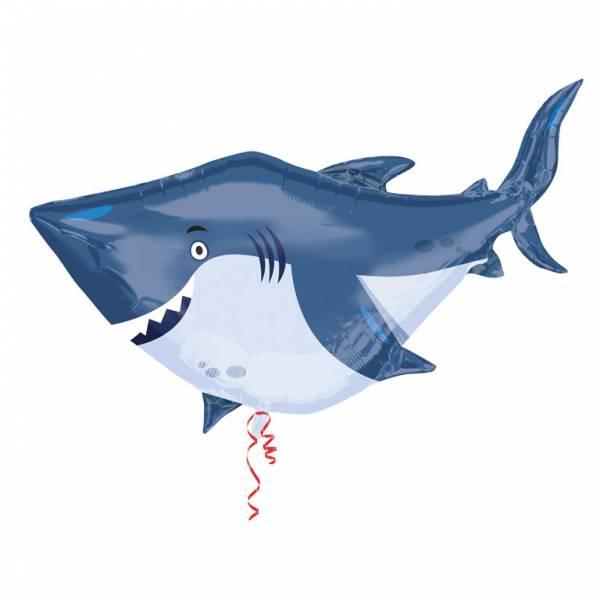 Bilde av Shark Dudutu, Shark Folieballong, 101x81cm