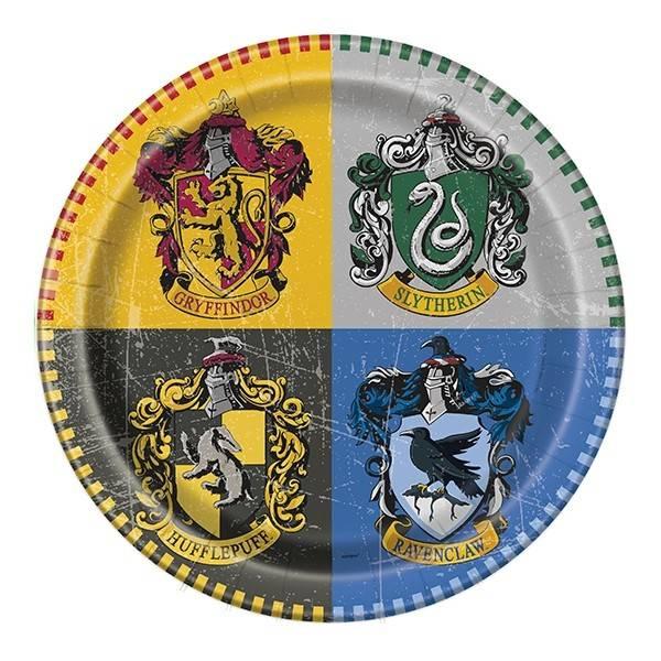 Bilde av Harry Potter, Tallerker, 8 stk
