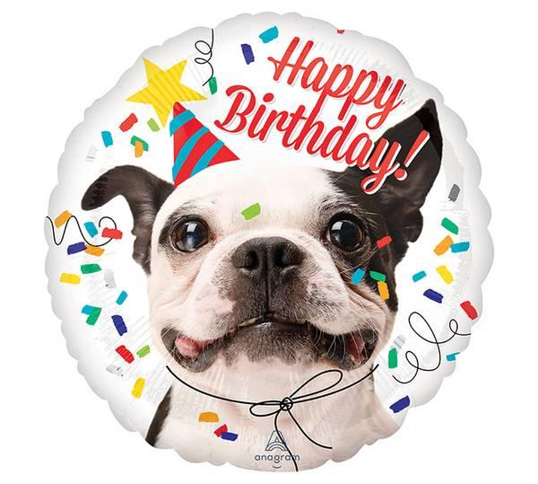 Bilde av Happy Birthday Hund Folieballong